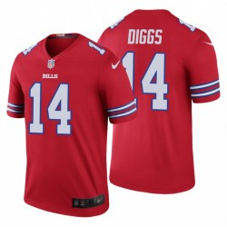 Stefon Diggs Buffalo Bills Hommes Couleur Rush Légende Rouge Maillot