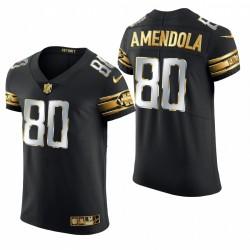 Detroit Lions Danny Amendola Black Golden Edition Elite Maillot