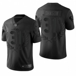 Homme David Johnson Houston Texans Black Vapor Limited Maillot