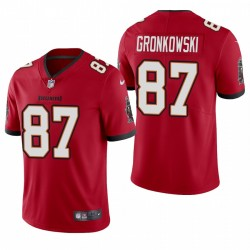 Rob Gronkowski Tampa Bay Buccaneers Vapeur Limited Maillot authentique - rouge