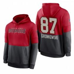Tampa Bay Buccaneers Rob Gronkowski Rouge Sweet Sweet Sweet Sweat à capuche à capuche à capuche de performance