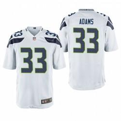 Seattle Seahawks Jamal Adams 33 Blanc Game Maillot