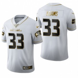 Seattle Seahawks Jamal Adams Golden Limited Maillot - Blanc