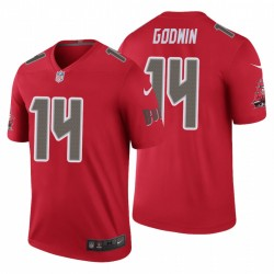 Chris Godwin Tampa Bay Buccaneers Couleur Rush Legend Red Maillot