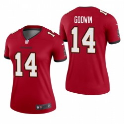 Femmes Chris Chris Godwin Tampa Bay Buccaneers Red légende Maillot