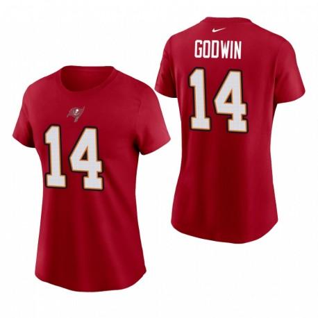 Femmes Tampa Bay Buccaneers Chris Godwin Nom Nom T-shirt - Rouge