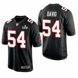 Tampa Bay Buccaneers Lavonte David Super Bowl LV Game Mode Maillot - Noir