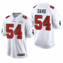 Tampa Bay Buccaneers Lavonte David Super Bowl LV Mode Maillot - Blanc