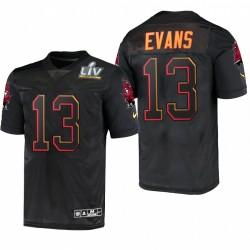 Tampa Bay Buccaneers Mike Evans Super Bowl LV Maillot - Noir