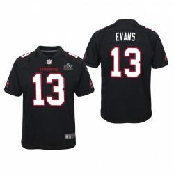 Jeune Tampa Bay Buccaneers Mike Evans Super Bowl LV Game Maillot - Noir
