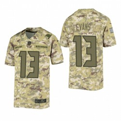 Youth Tampa Bay Buccaneers Mike Evans Green SALUT TO SERVICE Jeu Maillot