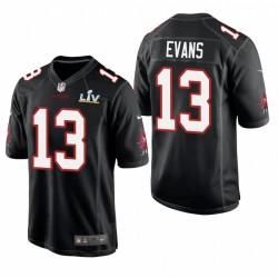 Tampa Bay Buccaneers Mike Evans Super Bowl LV Game Mode Maillot - Noir