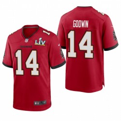 Tampa Bay Buccaneers Chris Godwin Super Bowl LV Game Maillot - Rouge