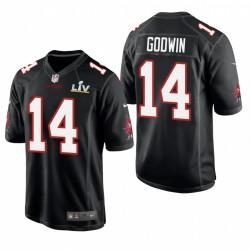 Tampa Bay Buccaneers Chris Godwin Super Bowl LV Jeu Mode Maillot - Noir