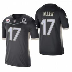 Bills Josh Allen 2021 AFC Pro Bowl Jeu Maillot - Anthracite