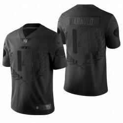 Men's Sam Darnold New York Jets Vapeur Black Limited Maillot