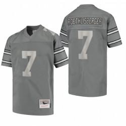 Men's Ben Roethlisberger Pittsburgh Steelers Metal Replica Maillot