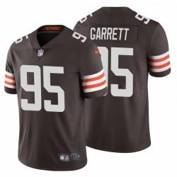 Myles Garrett 95 Cleveland Browns Vapor Limited Brown Maillot
