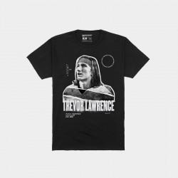 Trevor Lawrence Clemson Tigers 2021 NFL Joueur NFL T-shirt graphique - Noir