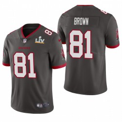 Tampa Bay Buccaneers Antonio Brown Super Bowl LV Vapeur Limited Maillot - Étail