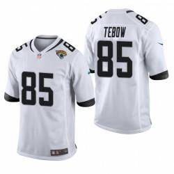 Jacksonville Jaguars Tim Tebow Game White Maillot
