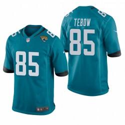 Jacksonville Jaguars Tim Tebow jeu Teal Maillot