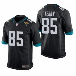 Jacksonville Jaguars Tim Tebow jeu noir Maillot