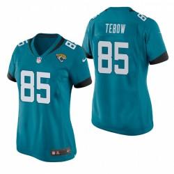 Jacksonville Jaguars de Femme Tim Tebow jeu Teal Maillot