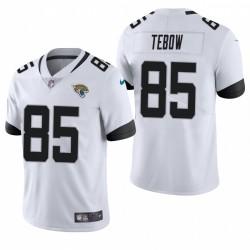 Tim Tebow Jacksonville Jaguars Blanc Vapeur Limited Maillot