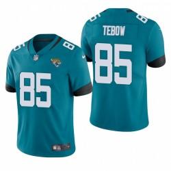 Tim Tebow Jacksonville Jaguars Teal Vapeur Limited Maillot
