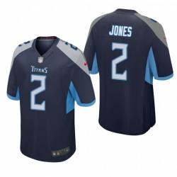 Tennessee Titans Julio Jones Marine Jeu Maillot