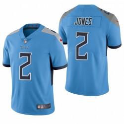 Julio Jones Tennessee Titans Light Blue Vapor Limited Maillot