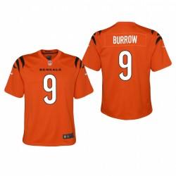 Jeunesse Cincinnati Bengals Joe Burrow 2021 Alternate Jeu Maillot - Orange