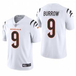 Joe Burrow Cincinnati Bengals Blanc 2021 Vapeur Limited Maillot