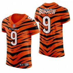 Joe Burrow Cincinnati Bengals 2021-22 Orange City Edition Elite Maillot