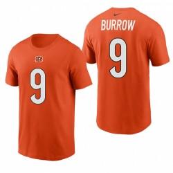 Cincinnati Bengals Joe Burrow Nom Nom 2021 T-shirt - Orange