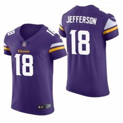 Justin Jefferson Minnesota Vikings Vapeur Vapeur Elite Maillot