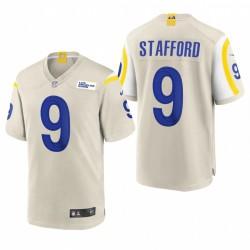 Los Angeles Rams Matthew Stafford Bone Jeu Maillot