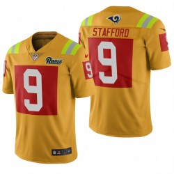 Los Angeles Rams Matthew Stafford Gold City Edition Vapor Limited Maillot