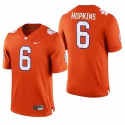 Clemson Tigers Deandre Hopkins Jeu de football Orange College Maillot