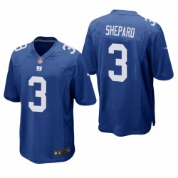 New York Giants Sterling Shepard Royal Game Maillot