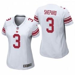 Femmes New York Giants Sterling Shepard Blanc jeu Maillot
