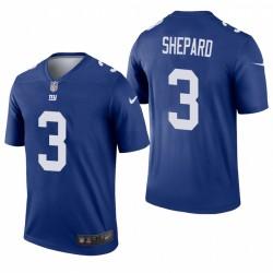 Giants 3 Sterling Shepard Royal Legend Maillot
