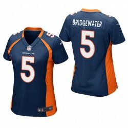 Femmes Denver Broncos Teddy Bridgewater Wather Jeu Maillot