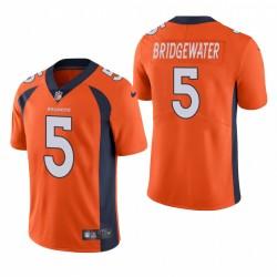 Teddy Bridgewater Denver Broncos Orange Vapeur Limited Maillot