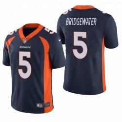 Teddy Bridgewater Denver Broncos Navy Vapor Limited Maillot