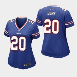 Femmes Buffalo Bills 20 Frank Gore Maillot Game - royal