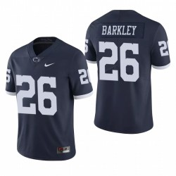 Penn State Nittany Lions 26 Saquon Barkley Navy College Football Limited Maillot