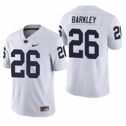 Penn State Nittany Lions 26 Saquon Barkley Blanc College Football Limited Maillot