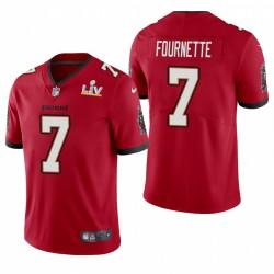 Tampa Bay Buccaneers Leonard Fournette Super Bowl LV Vapeur Limited Maillot - Rouge